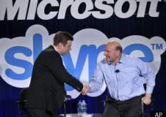 Colpo grosso di Bill Gates, Microsoft acquisisce Skype