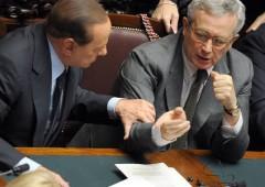 Berlusconi-Tremonti: un teso incontro photo-op, per calmare i mercati. Ma non serve