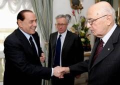 Berlusconi da Napolitano: ma perche' nessuno parla, che democrazia e'?