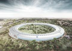 """Apple: una sede """"spaziale"""" enorme, sara' piu' grande del Pentagono"""