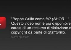 E Grillo censura