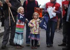 Regno Unito bloccato: maggiore sciopero degli ultimi 30 anni