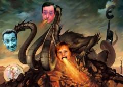 Ecco il mostro Drakozel