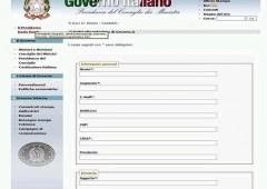 """Governo chiede aiuto di tutti sul web: """"Italiani, segnalateci gli sprechi"""""""