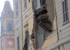 Monti contestato in Emilia nei luoghi del terremoto