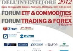 Il 30 maggio a Milano La Giornata dell'Investitore 2012