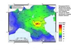 Terremoto in Emilia: l'Italia sta ruotando in senso antiorario