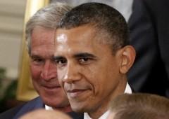 Crisi economia: americani tuttora incolpano Bush, non Obama