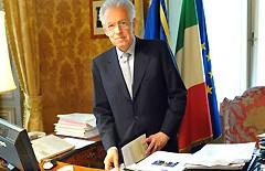"""Monti: """"Il 29 giugno è in gioco l'Europa"""""""