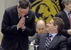 Draghi vede Geithner: grandi manovre, decisive per l'euro