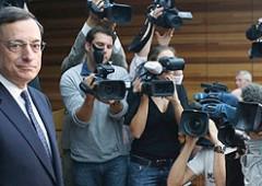 Bce, parla Draghi e cerca di salvare l'euro. Borsa euforica