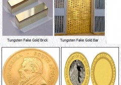 Oro falso a NY: facile avere il proprio lingotto contraffatto in tungsteno
