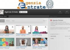 Fisco: l'Agenzia delle Entrate debutta su YouTube