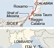 """""""La Salerno-Reggio Calabria simbolo della corruzione"""" del Sud d'Europa"""