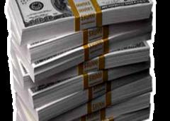 Rubata enorme somma di banconote da 100 dollari