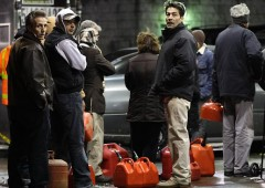 New York post Sandy: parte razionamento benzina