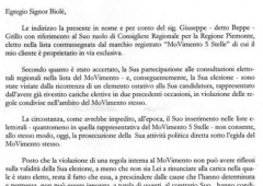 Movimento 5 Stelle: espulso consigliere del Piemonte