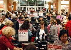Black Friday: gli americani hanno speso $1 miliardo in meno