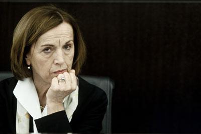 Il ministro del Lavoro Elsa Fornero.