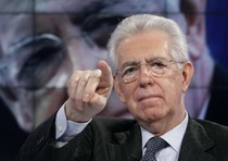 Il Monti politico è logorroico, ormai è sempre in tv