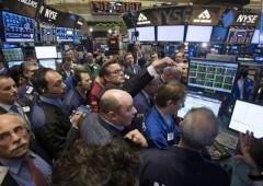 Wall Street in ritirata, giù dai livelli pre-Lehman