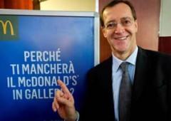 McDonald's striglia Italia: governo pensi di più al lavoro