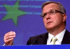 """Rehn contraddice Draghi: ancora crisi, ripresa """"solo nel 2014"""". Italia attenta su Imu"""
