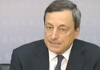 Draghi ammette: