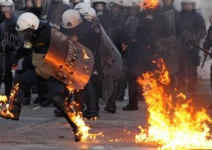 Grecia, escalation sociale