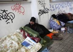 Crisi umanitaria in Grecia: numero record di senzatetto
