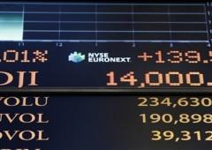 Dow Jones a un passo dal record storico di ottobre 2007