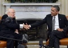 Napolitano alla Casa Bianca. Obama pro governi Bce/Fmi