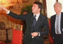 Incontro Renzi-Monti. Il sindaco prepara l'attacco al Pd