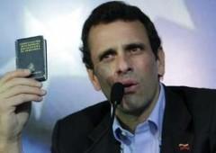 "Venezuela: candidato Capriles, ""menzogne per mesi su salute Chavez"""