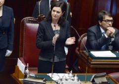 Boldrini, una giornalista presidente della Camera. Al Senato, la poltrona al magistrato Grasso