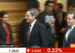 """Draghi: rischi al ribasso per economia. """"Fu Napolitano a chiamare"""""""