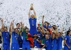 Il trionfo dell'Italia ai mondiali di calcio 2006