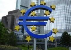 Bce: Eurozona, rischi ripresa, potrebbe slittare