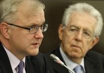 """Monti ribatte seccato all'Ue: """"Italia non contagia nessuno"""""""