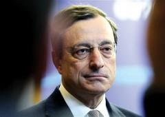 Draghi: banche hanno paura di prestare soldi a economia