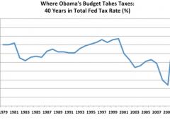 Rigore in Usa: le tasse più alte degli ultimi 40 anni