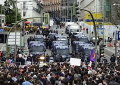 Crisi euro: a Madrid disordini di piazza. Disoccupazione record, sale al 27,2%