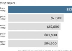 Usa: tutte le facoltà che assicurano uno stipendio d'oro