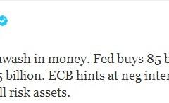 "Il tweet di Bill Gross: ""non comprate, vendete"""