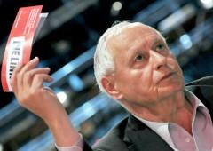 "Lafontaine, leader sinistra Germania: ""Basta euro"""