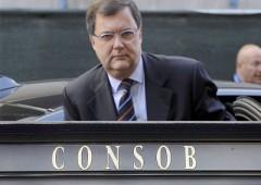 """Consob: alert rischi Tobin Tax. Vegas: """"nemico non è spread"""""""
