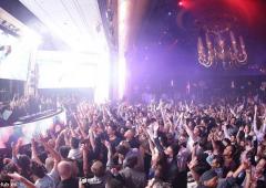 Las Vegas si è trasformata in una gigantesca discoteca