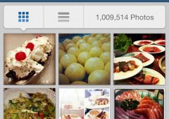 Foodstagram, il nuovo fenomeno dei social network