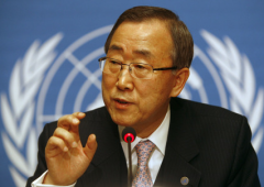 Ban Ki-moon avverte: l'acqua potabile rischia di finire