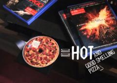 Dall'Inghilterra arrivano i DVD al gusto di pizza